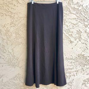 TRIBAL Maxi Skirt Long Ankle Length Brown Work